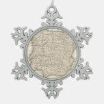 Mapa del vintage de España (1775) Adornos