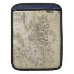 Mapa del vintage de Gloucester Massachusetts (1873 Fundas Para iPads