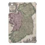 Mapa del vintage de Irlanda (1716) iPad Mini Cobertura