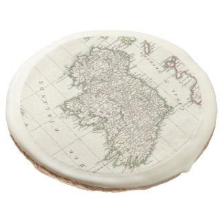 Mapa del vintage de Irlanda (1771)