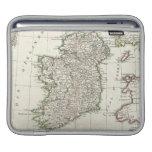Mapa del vintage de Irlanda (1771) Mangas De iPad