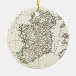 Mapa del vintage de Irlanda (1771) Ornato