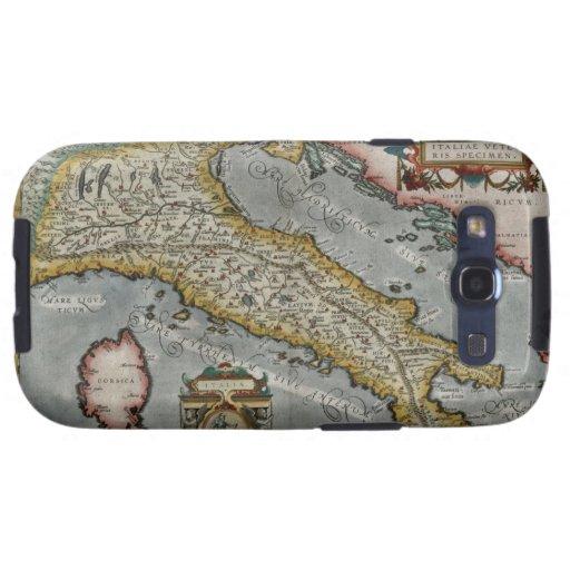 Mapa del vintage de Italia (1584) Samsung Galaxy S3 Cobertura