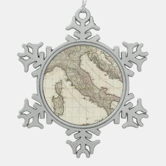 Mapa del vintage de Italia (1764) Adorno
