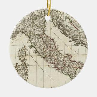 Mapa del vintage de Italia (1764) Ornamentos De Reyes
