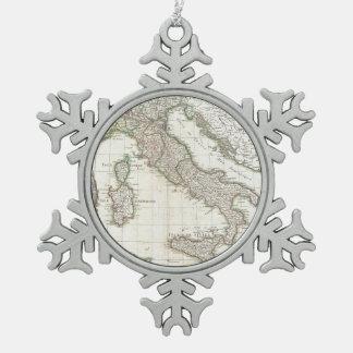 Mapa del vintage de Italia (1770) Adorno