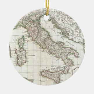 Mapa del vintage de Italia (1770) Ornamento Para Arbol De Navidad