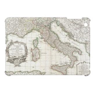 Mapa del vintage de Italia (1770) iPad Mini Cárcasa