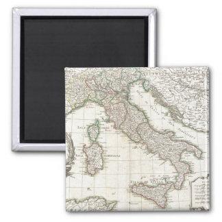 Mapa del vintage de Italia (1770) Imán De Frigorífico