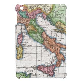 Mapa del vintage de Italia (1780) iPad Mini Funda