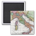 Mapa del vintage de Italia (1780) Imanes Para Frigoríficos