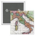 Mapa del vintage de Italia (1780) Pin