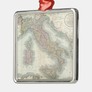 Mapa del vintage de Italia (1799) Ornamento Para Reyes Magos