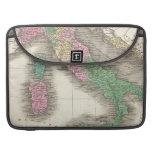 Mapa del vintage de Italia (1827) Funda Macbook Pro