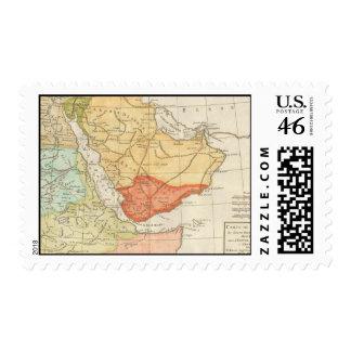 Mapa del vintage de la Arabia Saudita 1780