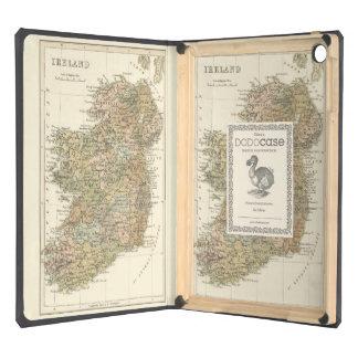 Mapa del vintage de la caja 1862 del aire del iPad