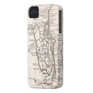 Mapa del vintage de la Florida (1763) iPhone 4 Case-Mate Protectores