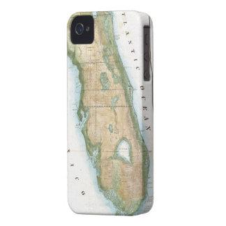 Mapa del vintage de la Florida (1848) Case-Mate iPhone 4 Protector