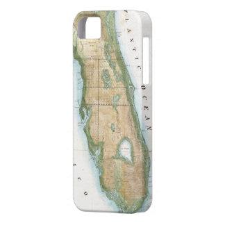 Mapa del vintage de la Florida (1848) iPhone 5 Funda