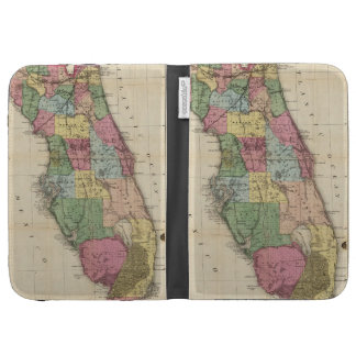 Mapa del vintage de la Florida (1870)