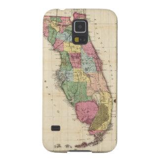 Mapa del vintage de la Florida (1870) Carcasa De Galaxy S5