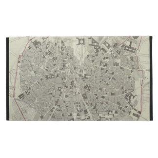Mapa del vintage de Madrid España (1831)