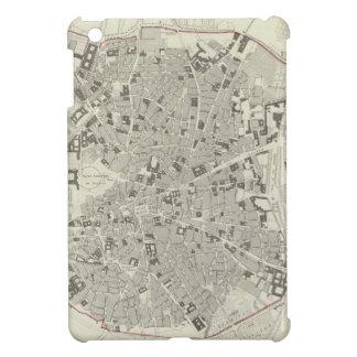 Mapa del vintage de Madrid España (1831) iPad Mini Cobertura