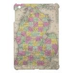 Mapa del vintage de Michigan (1853)