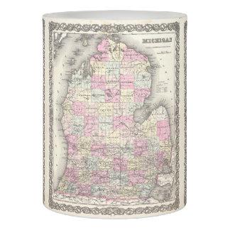 Mapa del vintage de Michigan (1855)