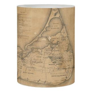 Mapa del vintage de Nantucket (1869)