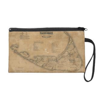 Mapa del vintage de Nantucket 1869
