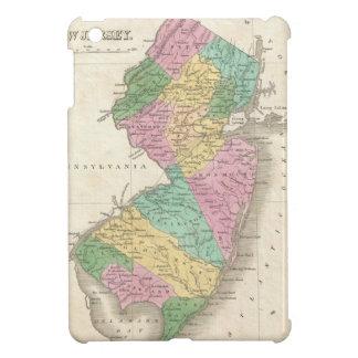 Mapa del vintage de New Jersey (1827) iPad Mini Protector