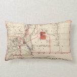 Mapa del vintage de New México (1882) Almohada