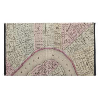 Mapa del vintage de New Orleans (1880)