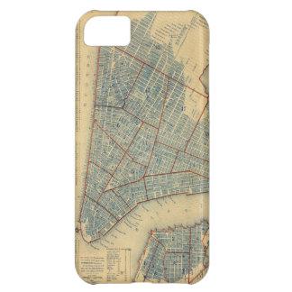 Mapa del vintage de New York City (1846)