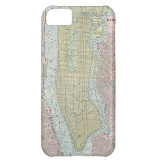 Mapa del vintage de New York City (1901)