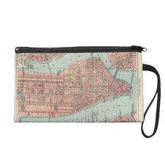Mapa del vintage de Nueva York