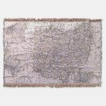 Mapa del vintage de Ohio (1884)
