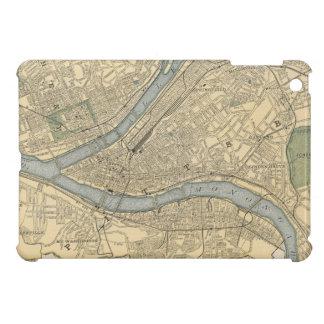 Mapa del vintage de PA de Pittsburgh (1891)