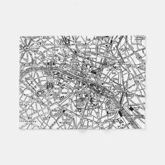Mapa del vintage de París (1911)