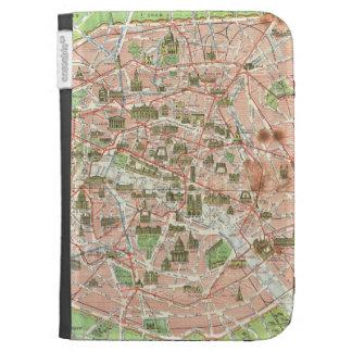 Mapa del vintage de París (1920)