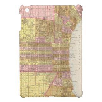 Mapa del vintage de Philadelphia 1846 iPad Mini Cobertura
