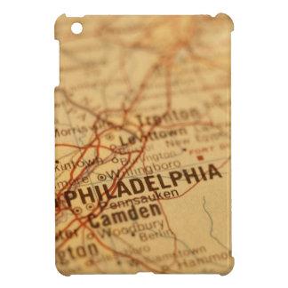 Mapa del vintage de Philadelphia
