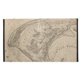 Mapa del vintage de Provincetown (1836)