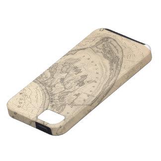 Mapa del vintage de Provincetown (1836) iPhone 5 Fundas