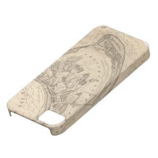 Mapa del vintage de Provincetown (1836) iPhone 5 Protectores