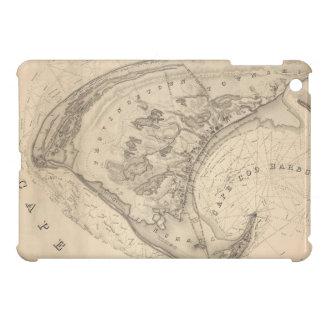 Mapa del vintage de Provincetown (1836) iPad Mini Carcasa