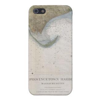 Mapa del vintage de Provincetown iPhone 5 Carcasa