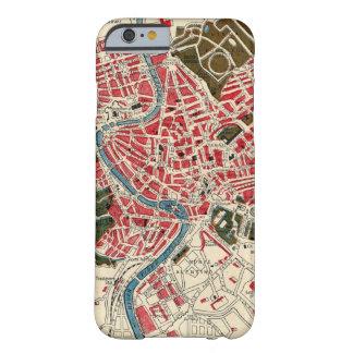 Mapa del vintage de Roma Funda Barely There iPhone 6