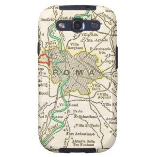 Mapa del vintage de ROMA ITALIA Samsung Galaxy SIII Funda